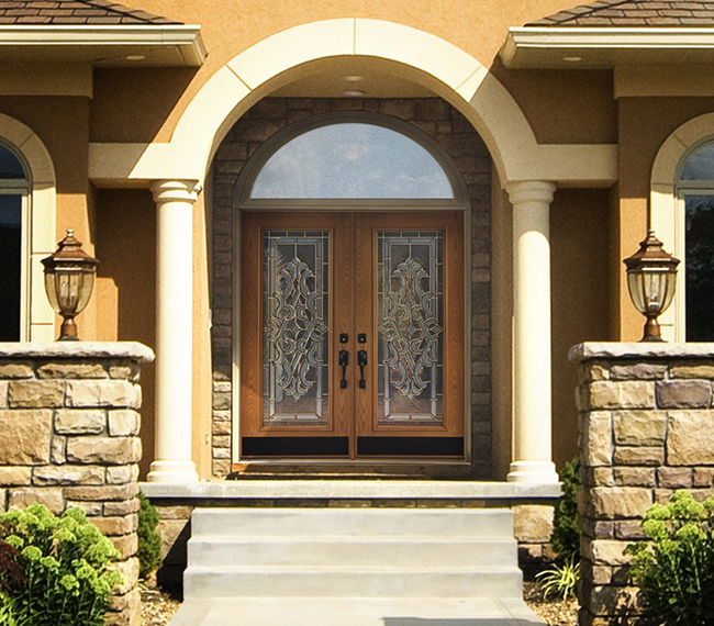 Entry doors patio doors storm doors wood doors for Double entry storm doors