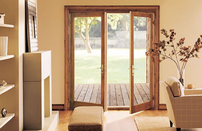 Swinging french door metropolitan windows pittsburgh pa for Interior french patio doors
